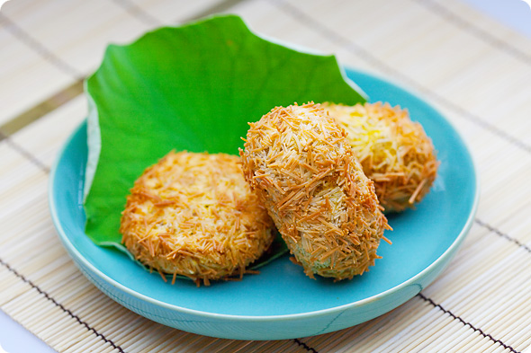 南瓜の素麺コロッケ